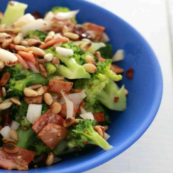Broccoli, Bacon and Cranberry Salad – Fabulous Foodie Fridays #31