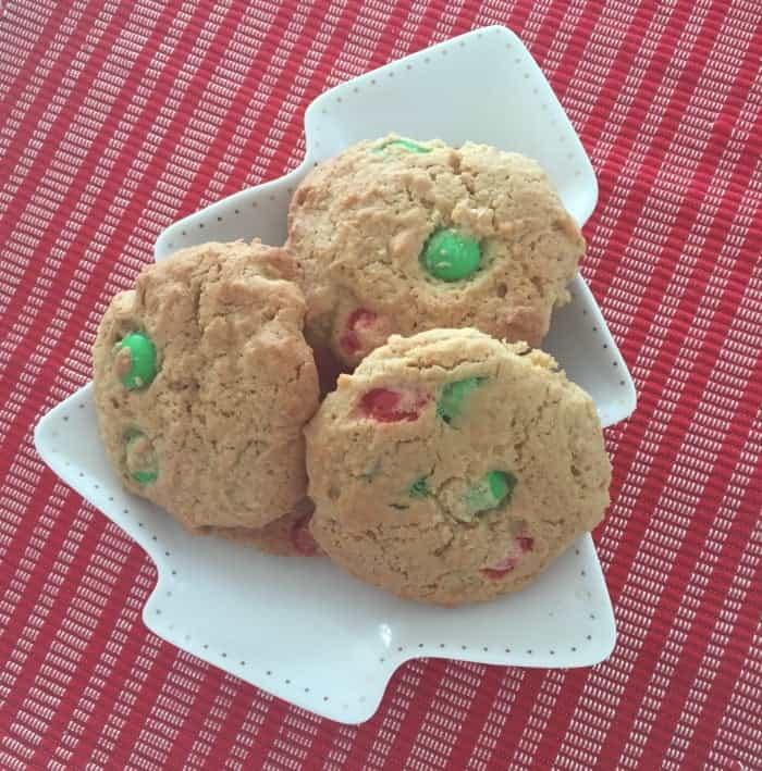 M&M Christmas Cookies 3