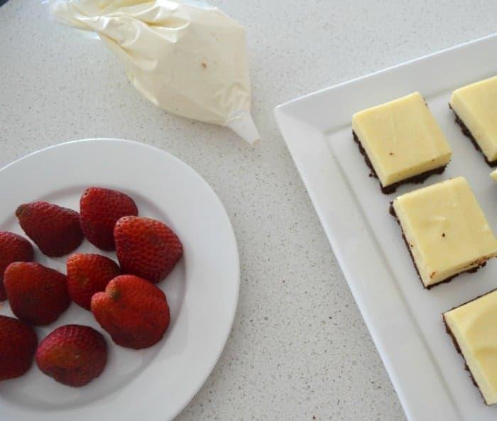 Santa Cheesecake Slice 2