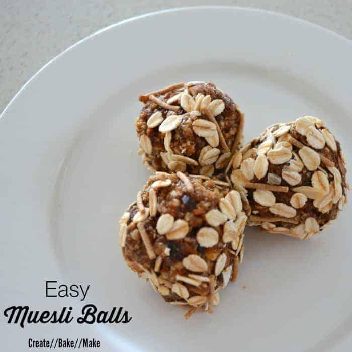 Easy Muesli Balls