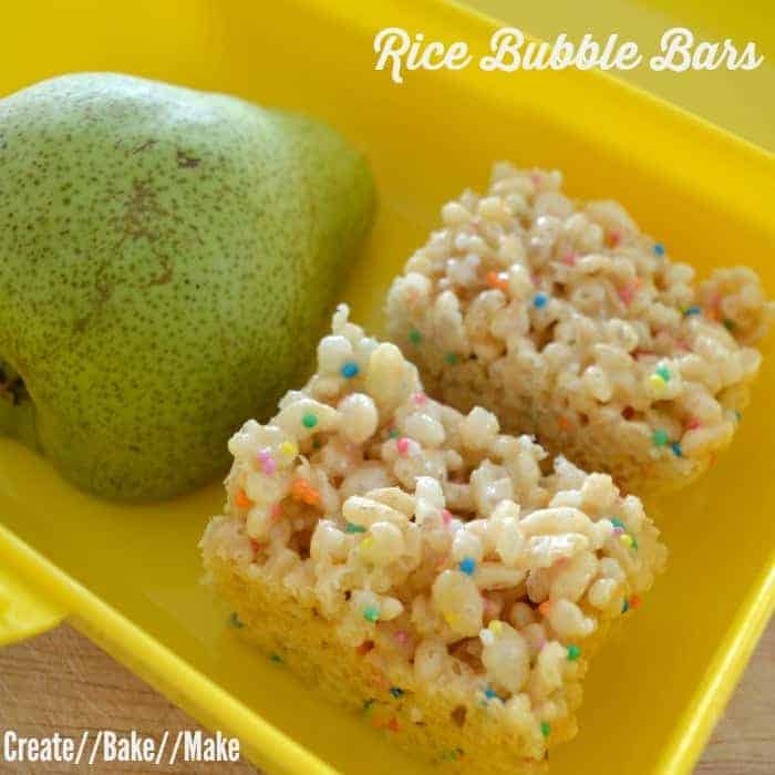 Rice Bubble Bars Feature
