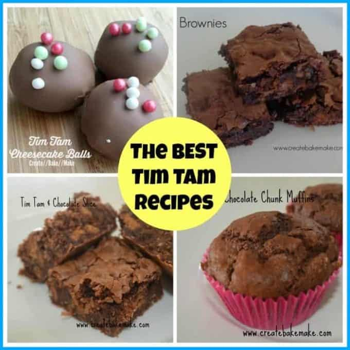 easy tim tam recipes