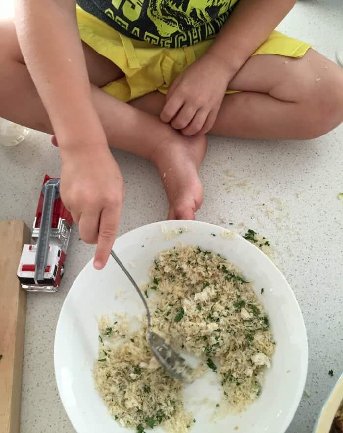 Zucchini and Quinoa nuggets