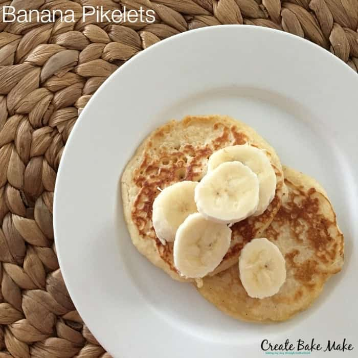 Freezer Friendly Banana Pikelets