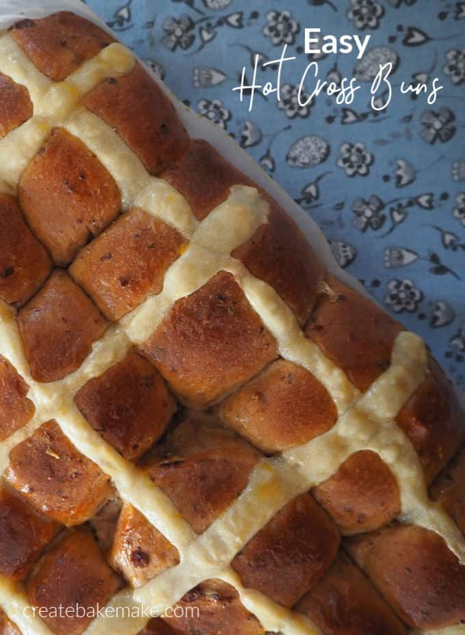 The BEST Easy Hot Cross Buns Recipe with both regular and Thermomix instructions included.