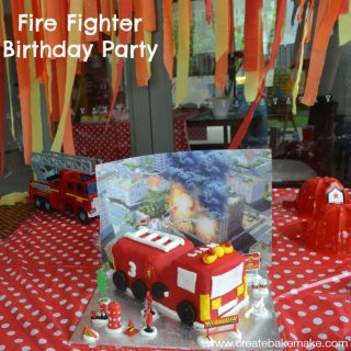 Fire Fighter Birthday Party