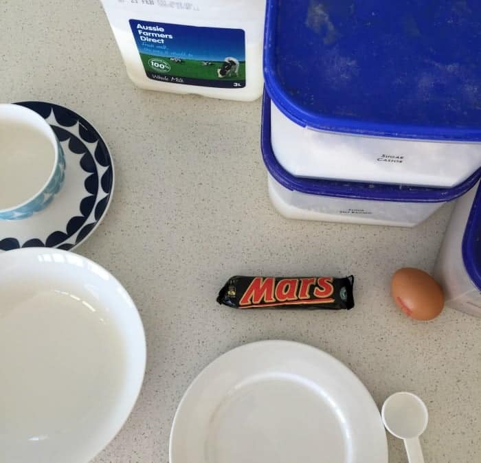 Mars Bar Mug Cake 1