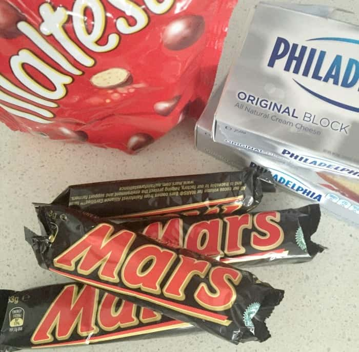 Mars Bar and Malteser Cheesecake 3