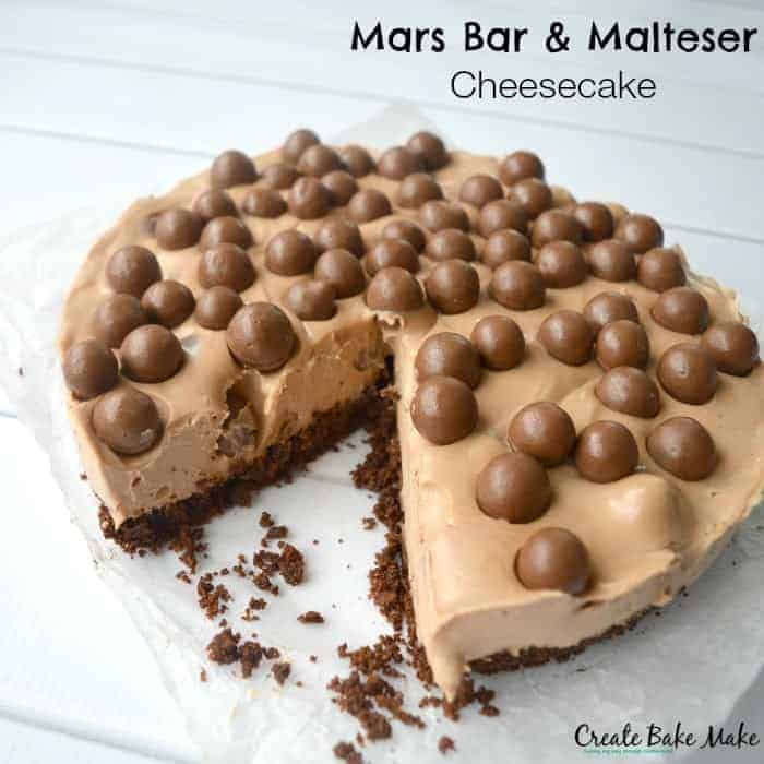 Mars Bar Birthday Cake
