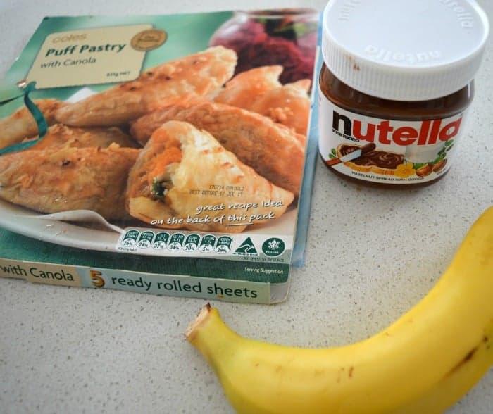 Nutella and Banana Croissants 2