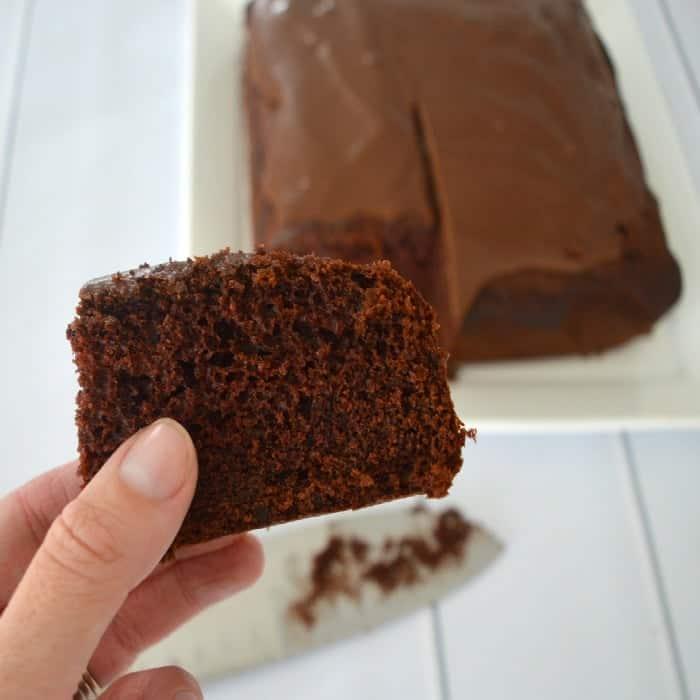 Rich Chocolate Cake 1