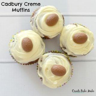 Cadbury Creme Muffins