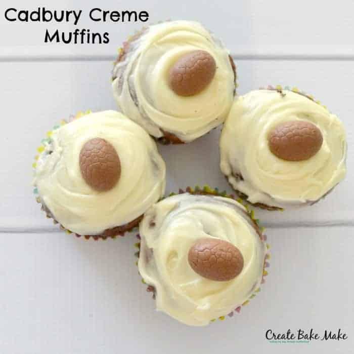 Cadbury Creme Muffins 1