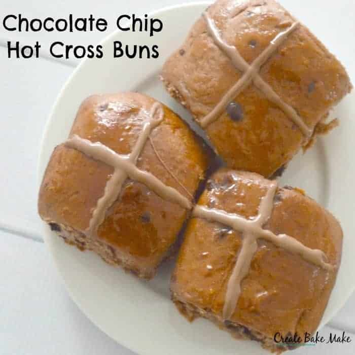 Choc Chip Hot Cross Buns Create Bake Make