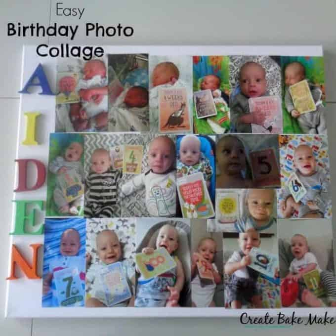Birthday Photo Collage 1