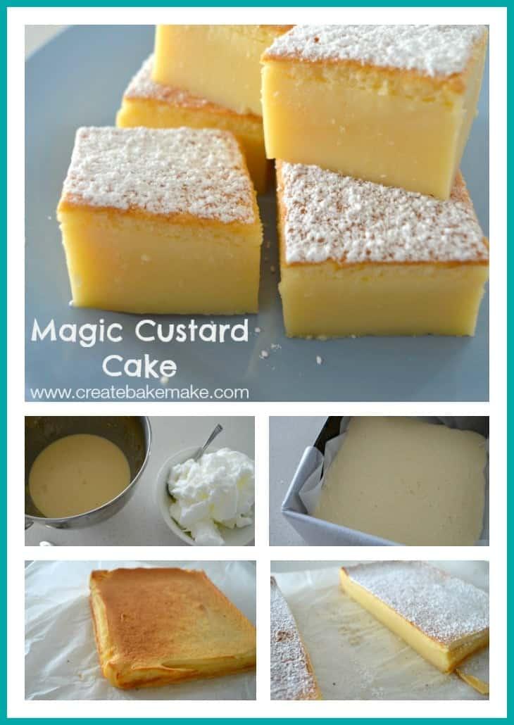 Create Bake Make Magic Custard Cake