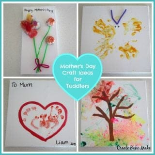 Mother's Day Craft for Toddlers and a Giveaway