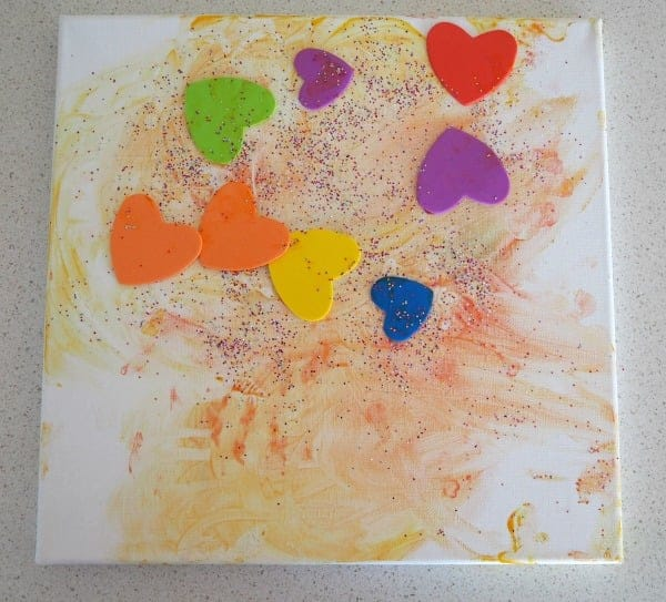Toddler Canvas Art Ideas