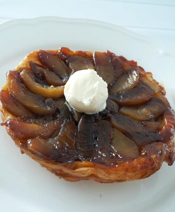 Easy Apple Tarte Tatin