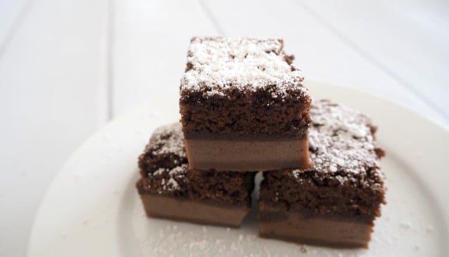 Chocolate Custard Cake Thermomix