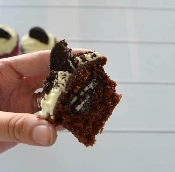 Chocolate Oreo Cupcakes 1