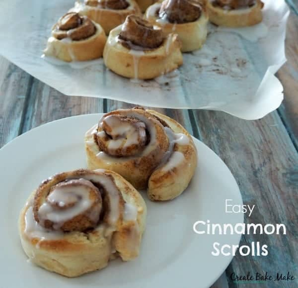 Easy Cinnamon Scrolls