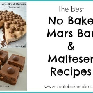 No Bake Malteser and Mars Bar Recipes
