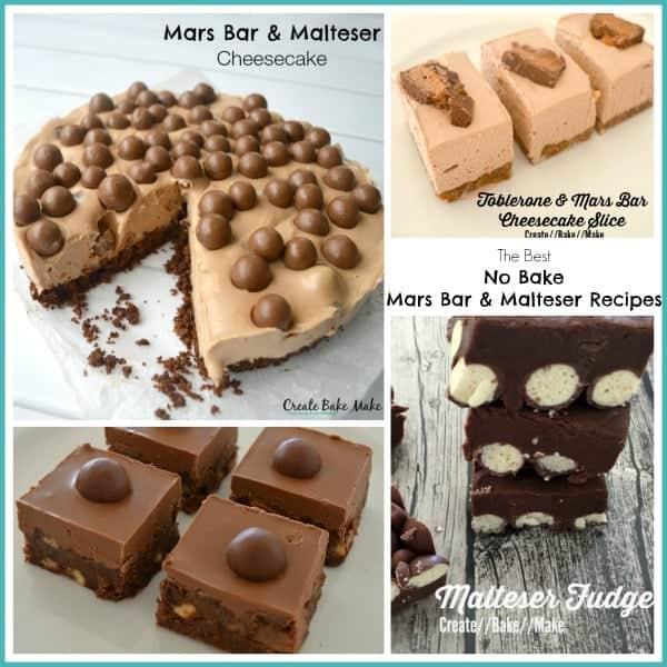 No Bake Mars Bar and Malteser Recipes