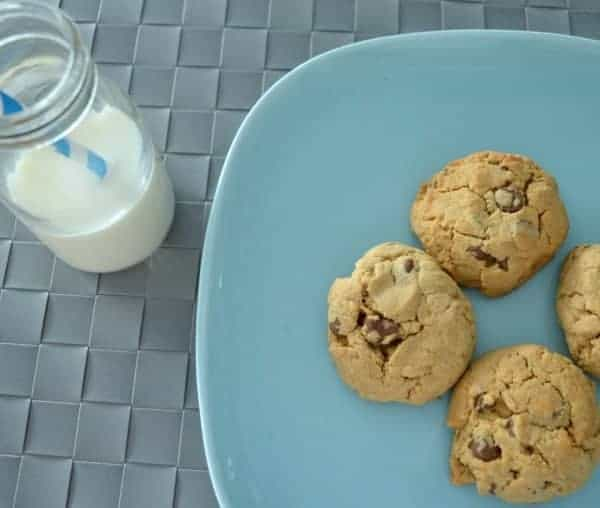 Peanut Butter and Choc Chip Cookies Feature