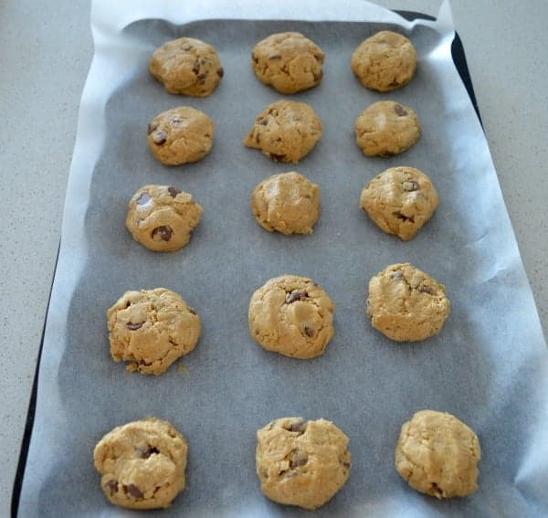 Peanut Butter and Chocolate Chip Cookies 2