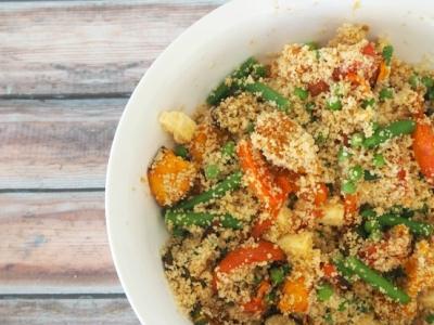 Roast Vegetable and Fetta Salad