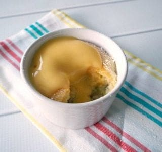 Apple Sponge Pudding