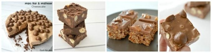 No Bake Maltesers and Mars Bar Recipes