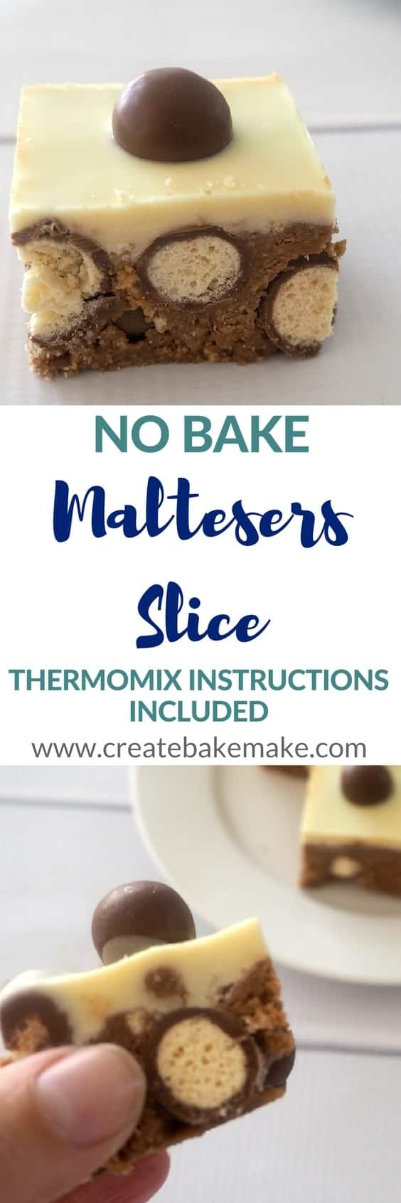 No Bake Maltesers Slice Recipe
