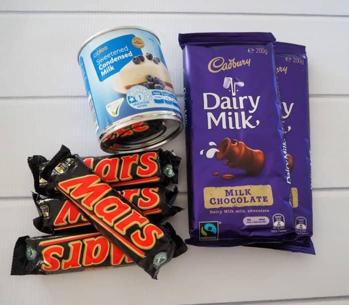 Three Ingredient Mars Bar Fudge
