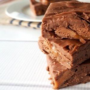 No Bake Mars Bar Fudge