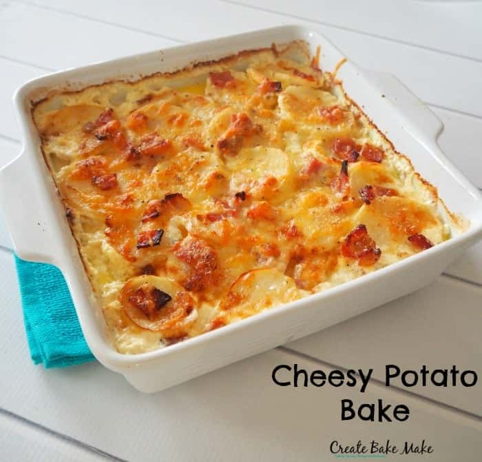 Cheesy Potato Bake