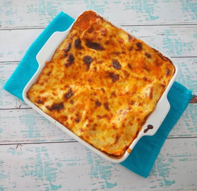Thermomix Lasagna recipe