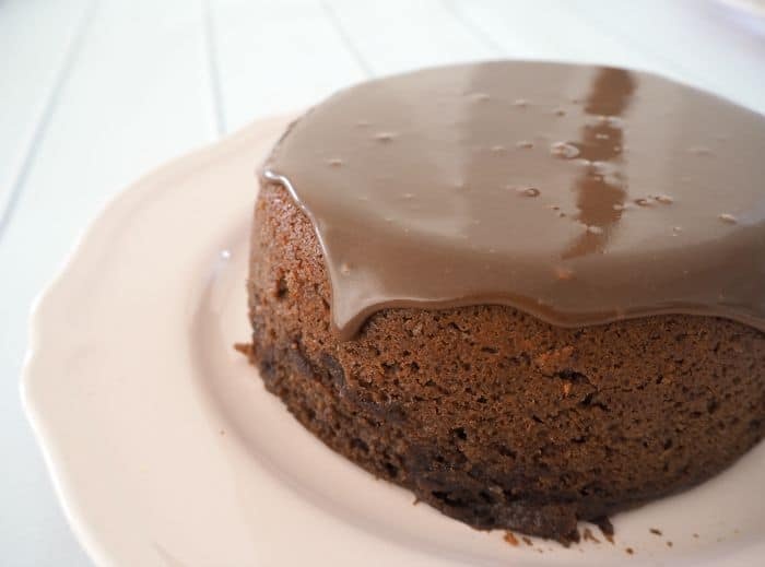 y Chocolate Rice Cooker Cake