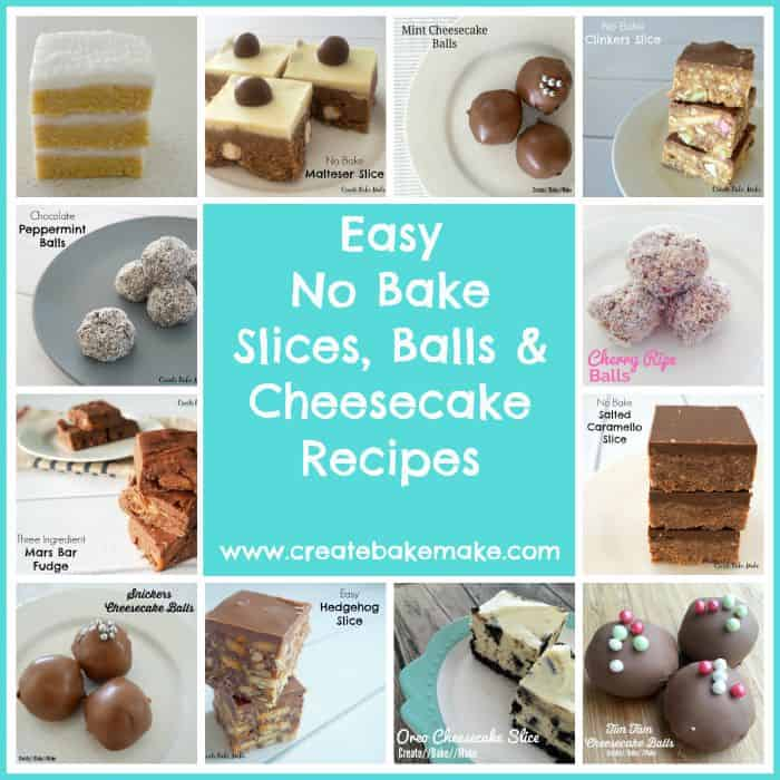 Easy slice recipes no bake