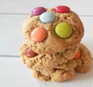 Smartie Cookies