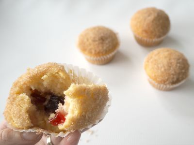 Thermomix Jam Donut Muffins