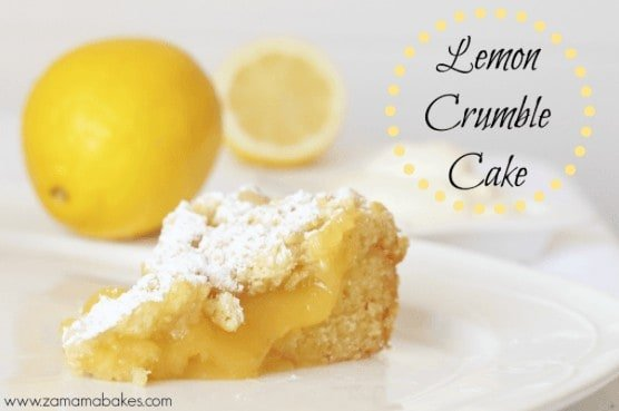 easy lemon crumble recipe