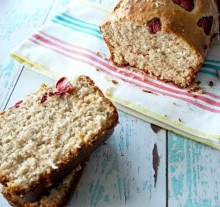 Strawberry and Coconut Bread