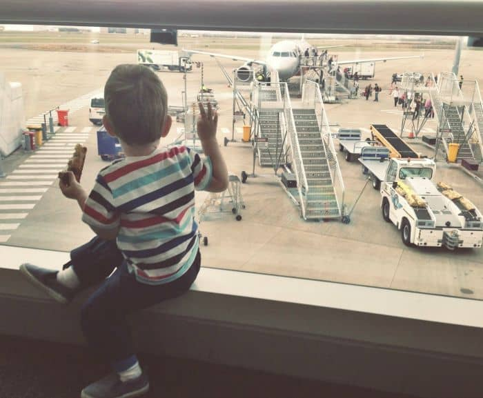 What not to do when travelling with kids