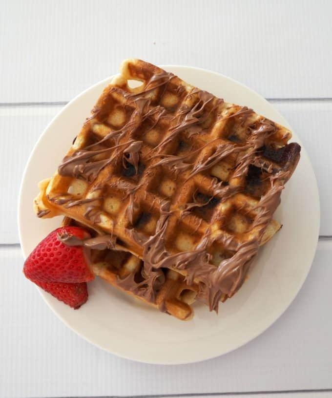 Chocolate Chip Waffle Recipe