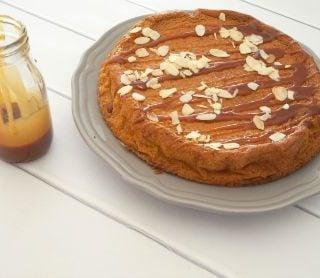 Salted Butter Caramel Magic Cake