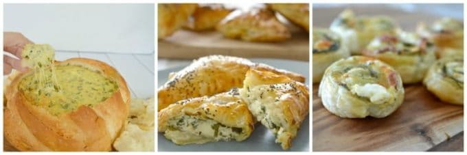 Spinach and Cheese recipes