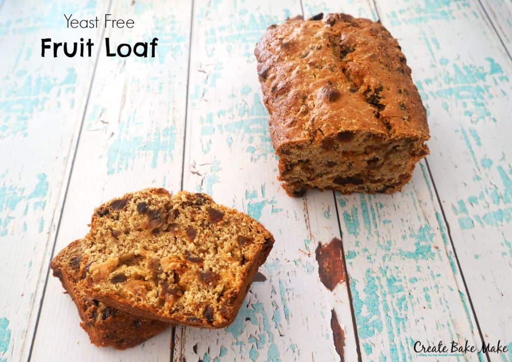 Yeast Free Fruit Loaf Recipe Thermomix and Conventional instructions included