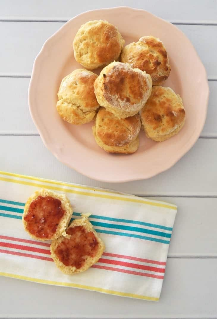 3 Ingredient Lemonade Scones Recipe